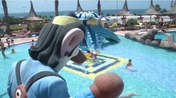 Детский бассейн возле отеля Фулия
