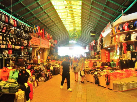Рынок в Манавгате