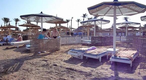 Пляж отеля тысяча и одна ночь