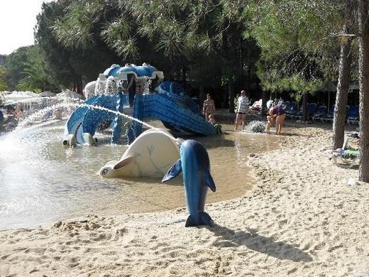 Песчаный бассейн в клуб джурал