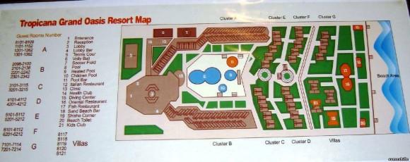 Схема отеля AA Гранд Оазис Резорт