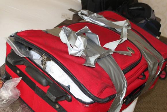Вкрытый багаж