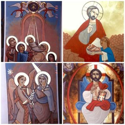 Коптские православные иконы