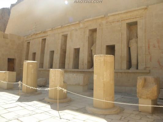 Колонны Храма Хатшепсут
