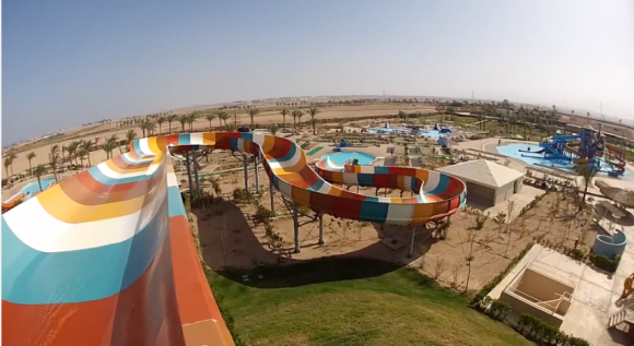 Makadi Water World аквапарк в пустыне