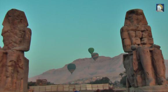 Поющие камни в долине Нила