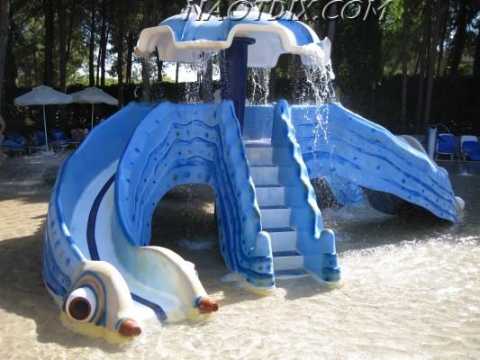 Песчаный бассейн для малышей