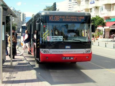 Вот так выглядит рейсовый автобус, который идет к водопаду