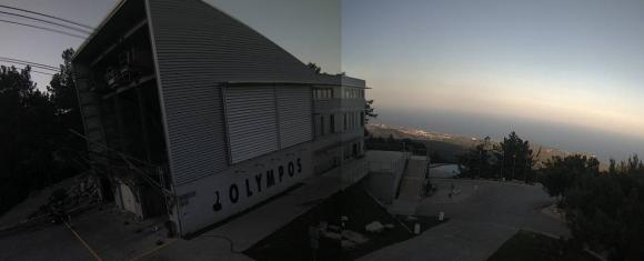 Обалденный закат в горах Кемера