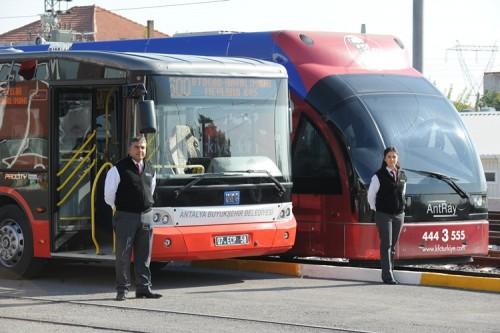 Вот так выглядит автобус номер 600