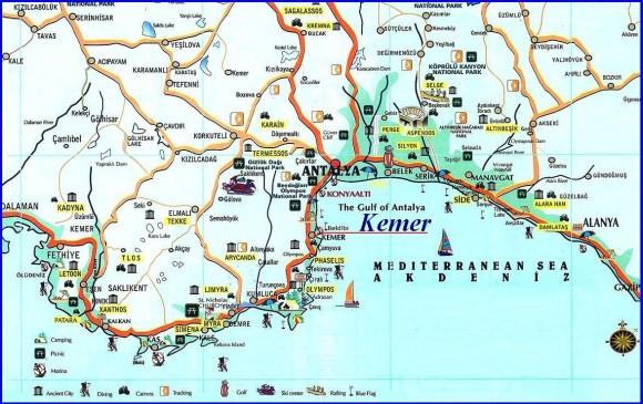 карта кемера