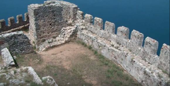Византийская крепость Алании