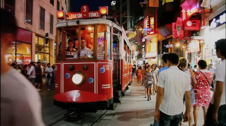 Прогулка на старом трамвае