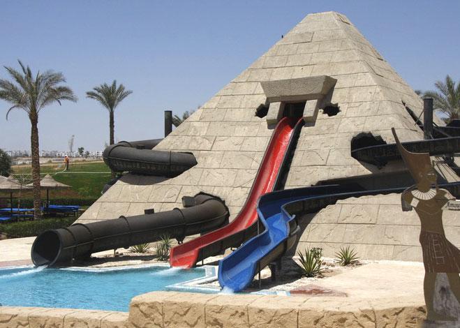 Отели с аквапарком в Египте: топ 5 самых лучших и популярных
